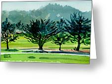 Fairway Junipers Greeting Card
