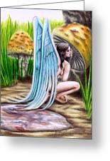 Fairy Amongst Poison Greeting Card