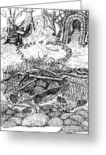 Fairy Dance Dragon Eggs Greeting Card