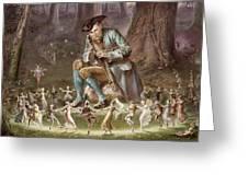 Fairy Dance Greeting Card by William Holmes Sullivan