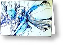 Fairy Doodles Greeting Card