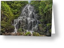 Fairy Falls On A Sunny Day Greeting Card