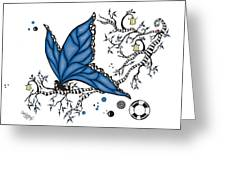 Fairy Fly Greeting Card
