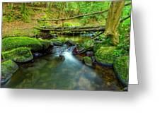 Fairy Glen Bridge Greeting Card