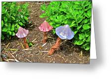 Fairy Houses Greeting Card