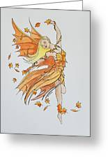 Fall Fairy Greeting Card