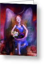 Fairy Of The Garden Greeting Card
