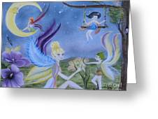 Fairy Play Greeting Card