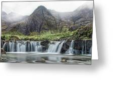 Fairy Pools - Isle Of Skye Greeting Card