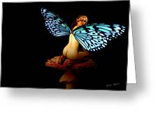 Fairy Takes A Second Look Greeting Card