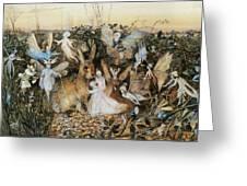 Fairy Twilight Greeting Card