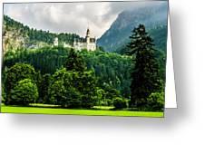 Fairytale Castle Neuschwanstein  Greeting Card
