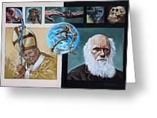 Faith And Evolution Greeting Card