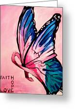 Faith For The Cure Greeting Card