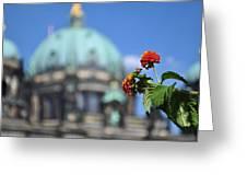 Faithful Flower Greeting Card