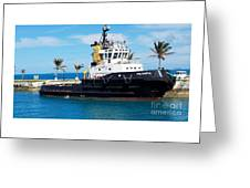 Faithfully Yours, Bermuda Greeting Card