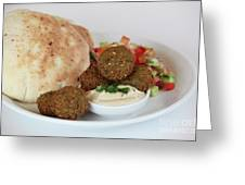 Falafel Balls Greeting Card