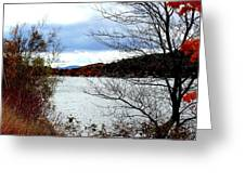 Fall 2015 Newfound Lake 1 Greeting Card