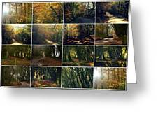 Fall - A Montage Greeting Card