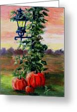 Fall Aceo Greeting Card
