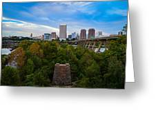 Fall Approaching In Richmond Greeting Card
