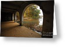 Fall Arches Greeting Card