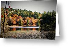 Fall At Bass Lake Greeting Card