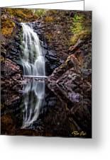 Fall At Fall River Falls Greeting Card