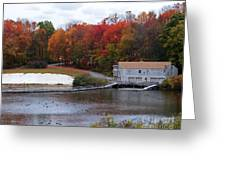Fall At Schooley's Mountain Greeting Card