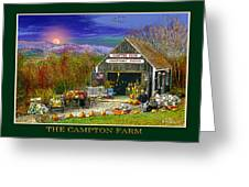 Fall At The Campton Farm Greeting Card