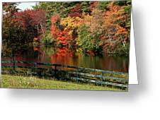 Fall At The Farm Greeting Card