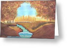 Fall At The Meadows Greeting Card