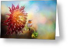 Fall Beauty In The Garden Greeting Card