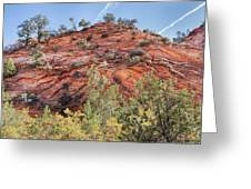 Fall Begins In Zion Greeting Card
