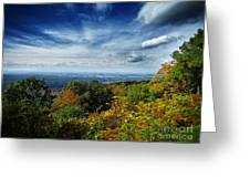 Fall Blue Ridge Parkway Greeting Card