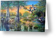 Fall Bounty- Big Cypress Swamp  Greeting Card