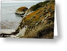 Fall Cliff Greeting Card