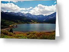 Fall Color At Trout Lake Greeting Card