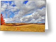 Fall Color On The Palouse Greeting Card