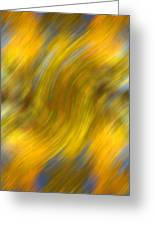 Fall Colors Abstract Greeting Card