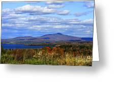 Fall Colors At Lake Carmi Greeting Card
