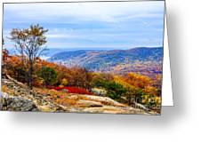 Fall Colors From Bear Mountain Greeting Card