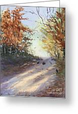Fall Early Morning Greeting Card