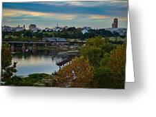 Fall Evening In Richmond Greeting Card