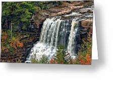 Fall Falls 2 Greeting Card