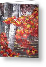 Fall Fantasy Greeting Card