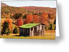 Fall Farm No. 6 Greeting Card