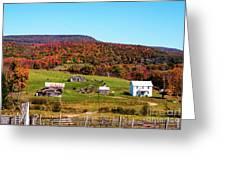 Fall Farm No. 7 Greeting Card