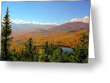 Fall From Mount Jo Greeting Card