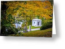 Fall Graves Greeting Card